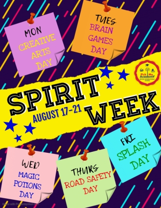 Copy of Spirit Week - Made with PosterMyWall